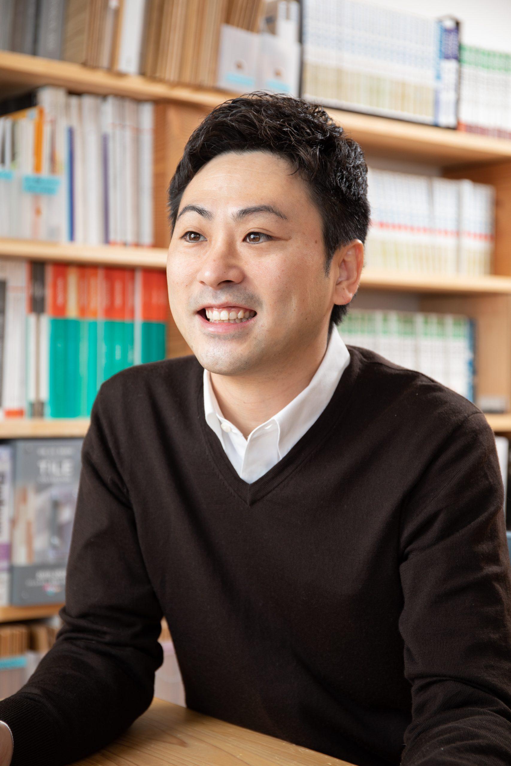 今回の取材先は/Amami Home株式会社天美住建一級建築士事務所・営業部長 渡部 史也さん